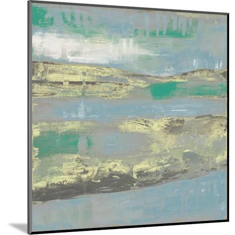 Cool Horizon I-Jennifer Goldberger-Mounted Art Print