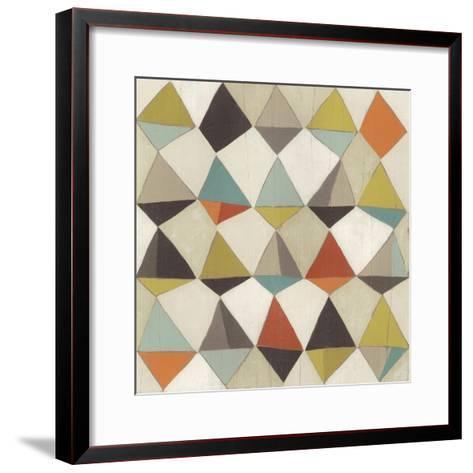 Pattern Undulation II-June Erica Vess-Framed Art Print
