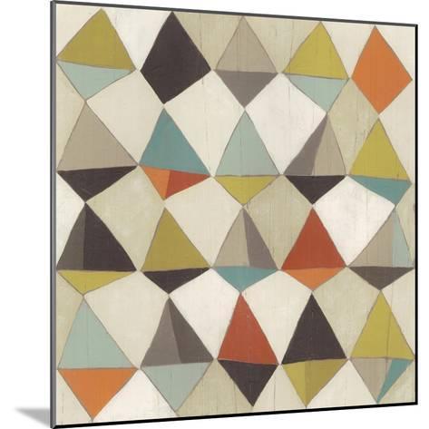 Pattern Undulation II-June Erica Vess-Mounted Art Print
