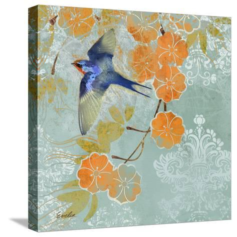 Blue Aurora II-Evelia Designs-Stretched Canvas Print