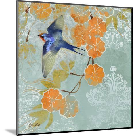 Blue Aurora II-Evelia Designs-Mounted Art Print