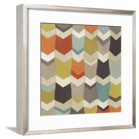 Pattern Undulation I-June Erica Vess-Framed Art Print