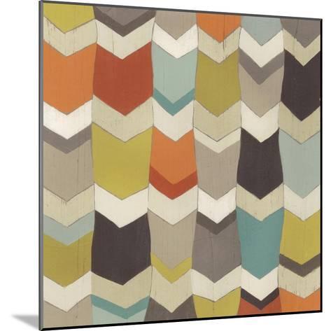 Pattern Undulation I-June Erica Vess-Mounted Art Print