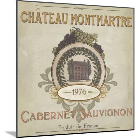 Vintage Wine Labels III-Erica J^ Vess-Mounted Art Print
