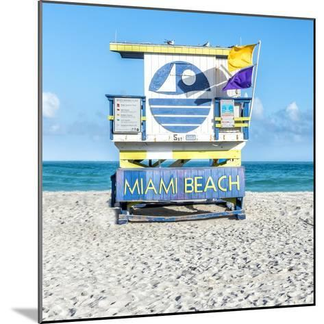 Miami Beach II-Richard Silver-Mounted Art Print