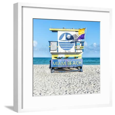 Miami Beach II-Richard Silver-Framed Art Print