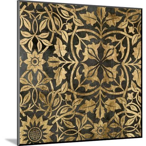 Golden Damask I-Jennifer Goldberger-Mounted Art Print