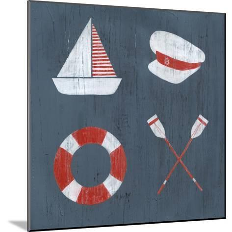 Nautical Quadrant II-Grace Popp-Mounted Art Print