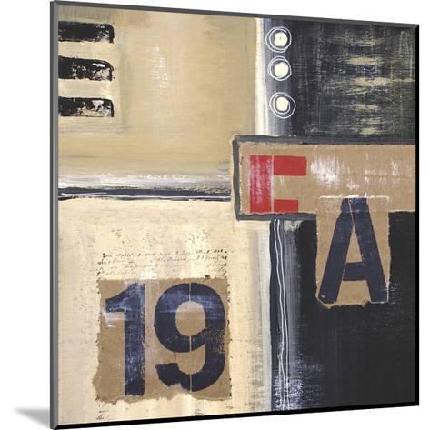 Abstract Inspiration II-Irena Orlov-Mounted Art Print
