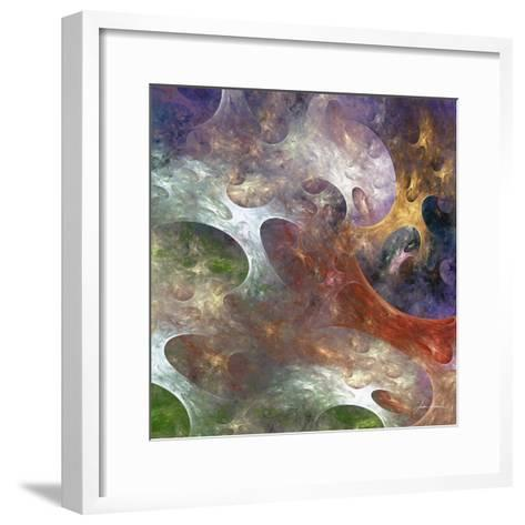Lunar Tiles III-James Burghardt-Framed Art Print