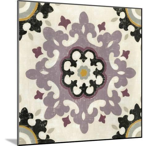 Lavender Suzani IV-Chariklia Zarris-Mounted Art Print