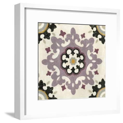 Lavender Suzani IV-Chariklia Zarris-Framed Art Print
