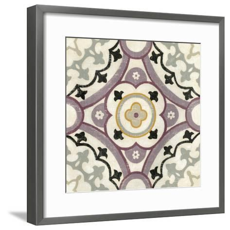 Lavender Suzani II-Chariklia Zarris-Framed Art Print