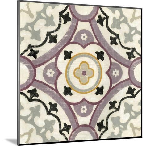 Lavender Suzani II-Chariklia Zarris-Mounted Art Print