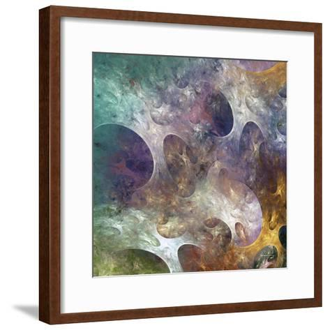Lunar Tiles IV-James Burghardt-Framed Art Print
