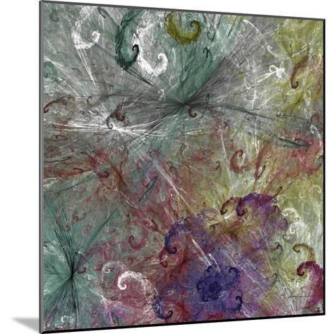 Spinout Tiles III-James Burghardt-Mounted Art Print