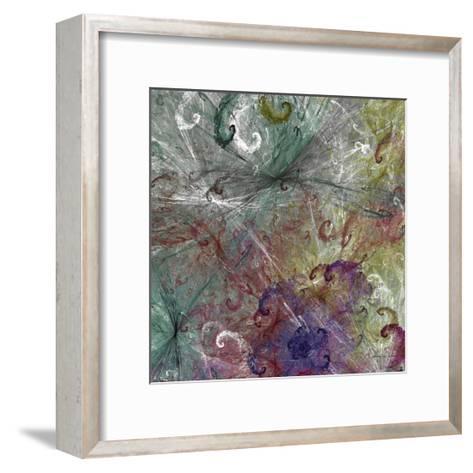 Spinout Tiles III-James Burghardt-Framed Art Print