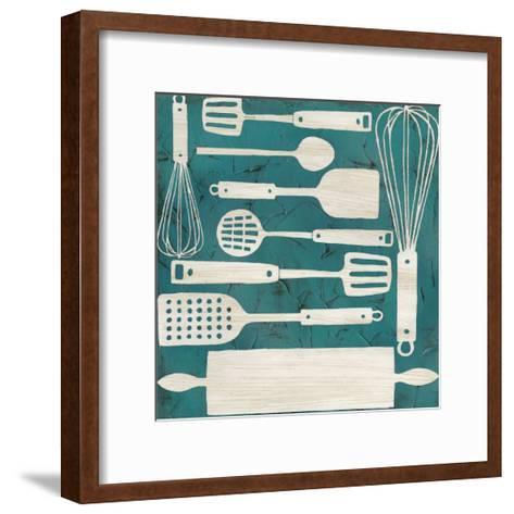 Kitchen Kitsch IV-June Erica Vess-Framed Art Print