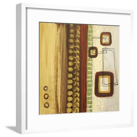 Abstract Expression I-Irena Orlov-Framed Art Print
