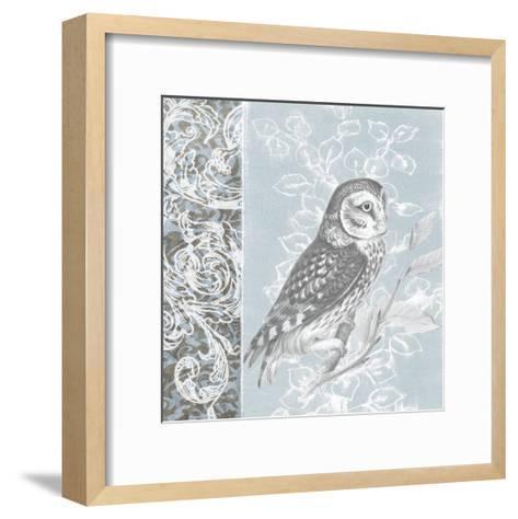 Owl Filigree II-Studio W-Framed Art Print