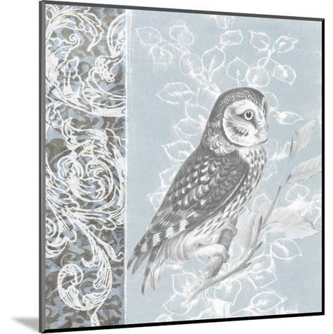 Owl Filigree II-Studio W-Mounted Art Print