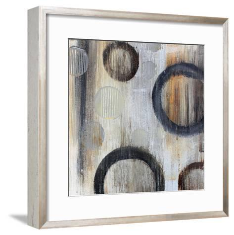 Geometric Abstraction I-Irena Orlov-Framed Art Print