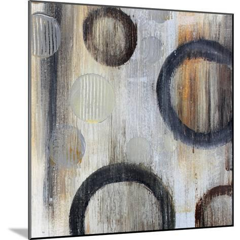 Geometric Abstraction I-Irena Orlov-Mounted Art Print