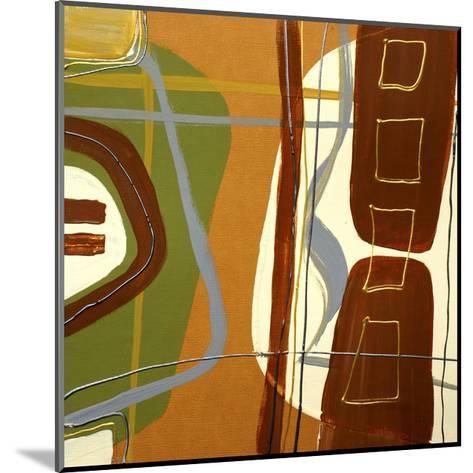 Simplicity II-Irena Orlov-Mounted Art Print