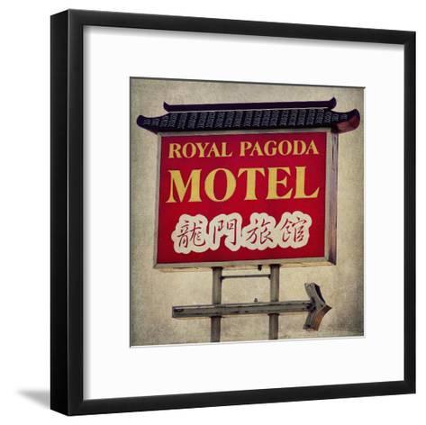 Vintage LA I-Honey Malek-Framed Art Print
