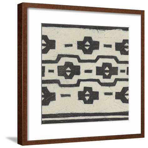 Tribal Patterns VI-June Vess-Framed Art Print