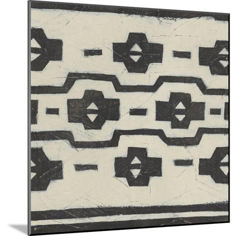 Tribal Patterns VI-June Vess-Mounted Art Print