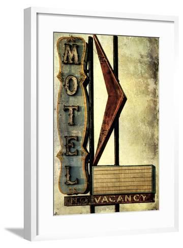 Vintage LA XVI-Honey Malek-Framed Art Print