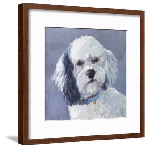 Woofie Cockapoo-Edie Fagan-Framed Art Print