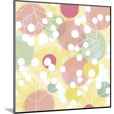 Popping Flowers I-Ali Benyon-Mounted Art Print