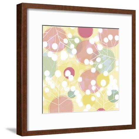 Popping Flowers I-Ali Benyon-Framed Art Print