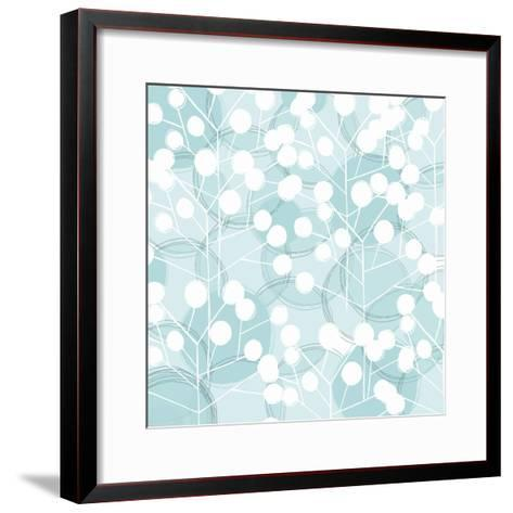 Popping Flowers III-Ali Benyon-Framed Art Print