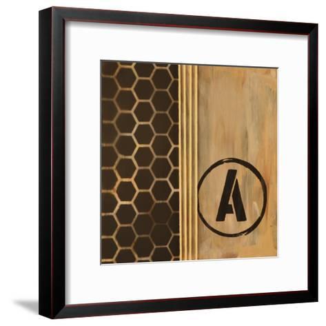 Typewriter Tread I-Natalie Avondet-Framed Art Print