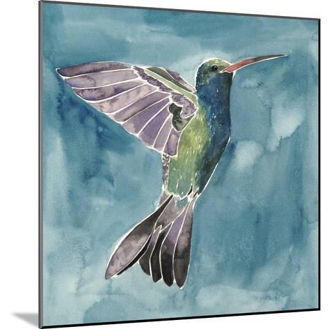 Watercolor Hummingbird I-Grace Popp-Mounted Art Print