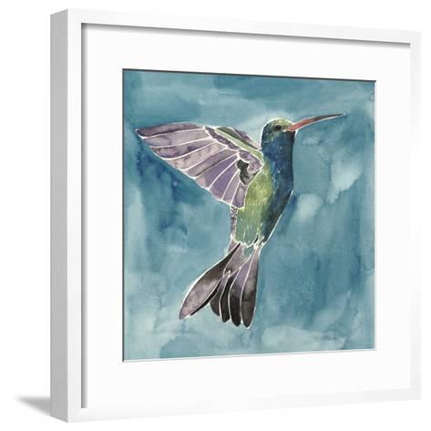 Watercolor Hummingbird I-Grace Popp-Framed Art Print