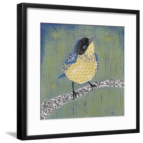 Patchwork Wren II-Grace Popp-Framed Art Print