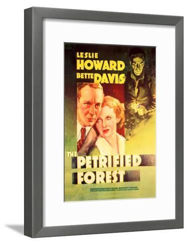 The Petrified Forest - (#2) Vintage Movie Poster-Lantern Press-Framed Art Print
