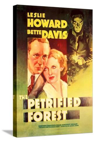 The Petrified Forest - (#2) Vintage Movie Poster-Lantern Press-Stretched Canvas Print