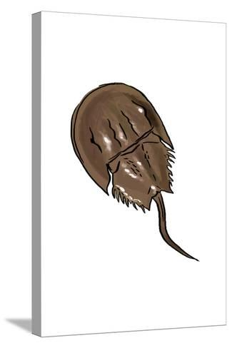 Horseshoe Crab - Icon-Lantern Press-Stretched Canvas Print
