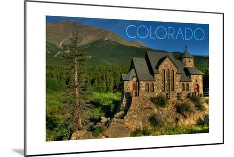 Colorado - St. Malos Chapel-Lantern Press-Mounted Art Print