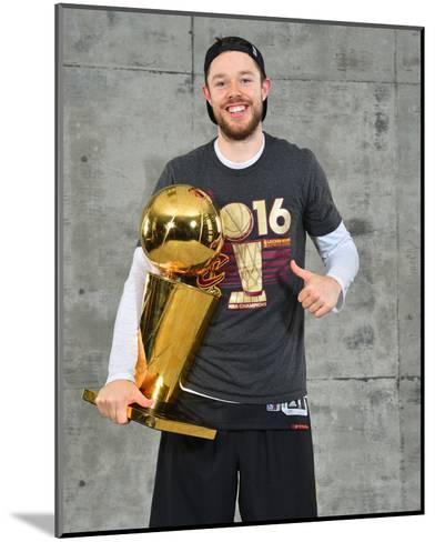 2016 NBA Finals - Post Game Trophy Shoot-Jesse D Garrabrant-Mounted Photo