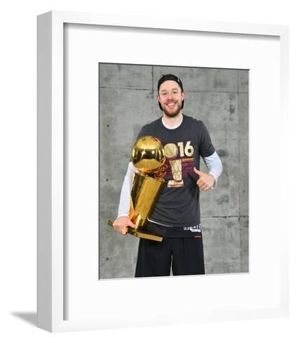2016 NBA Finals - Post Game Trophy Shoot-Jesse D Garrabrant-Framed Art Print
