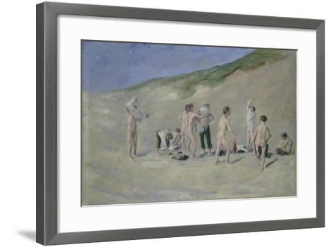 After Bathing-Max Liebermann-Framed Art Print