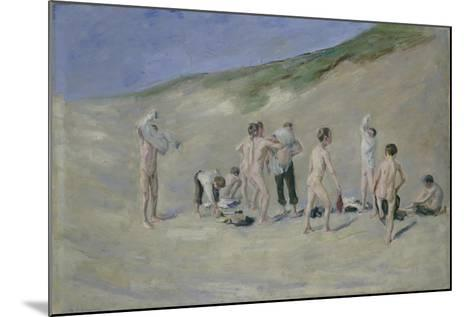 After Bathing-Max Liebermann-Mounted Giclee Print