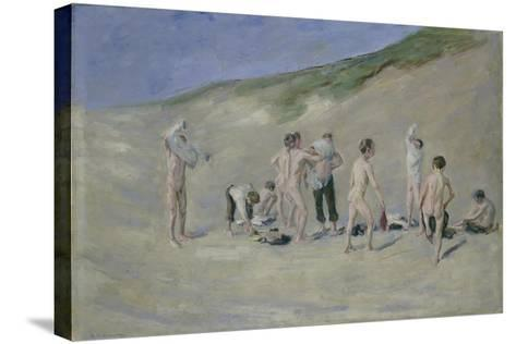 After Bathing-Max Liebermann-Stretched Canvas Print