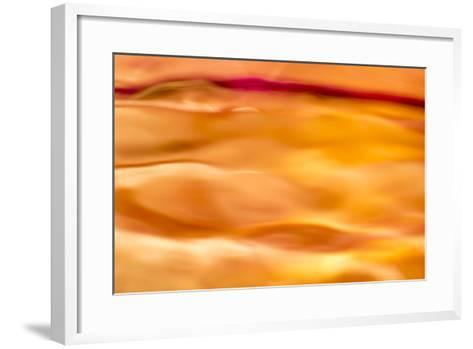 Abstract Red Line-Marco Carmassi-Framed Art Print